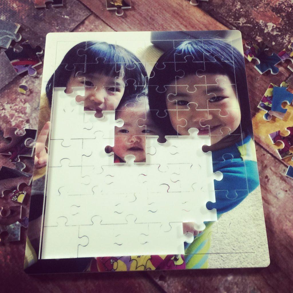 オリジナルパズル製作