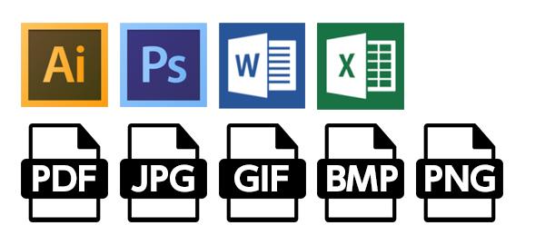 受取り可能なファイル