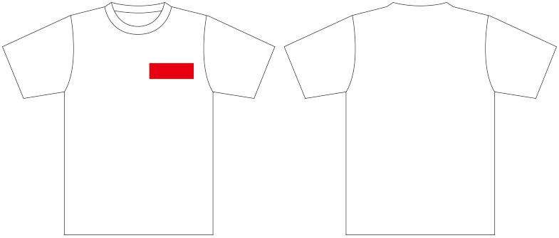 Tシャツプリントサンプル
