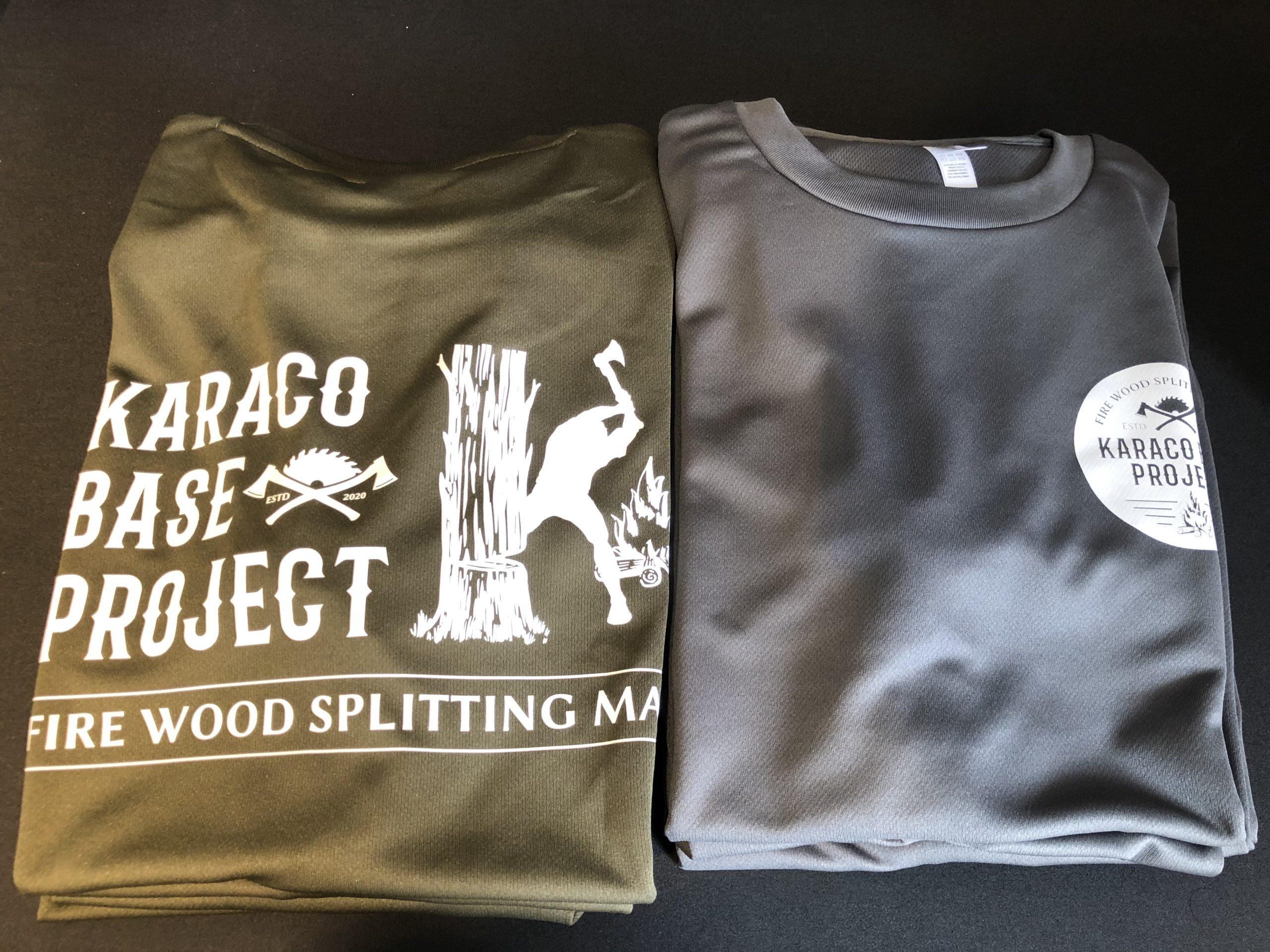 オリジナルTシャツが作れます